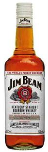 Jim Beam Bourbon White Label 1.00l